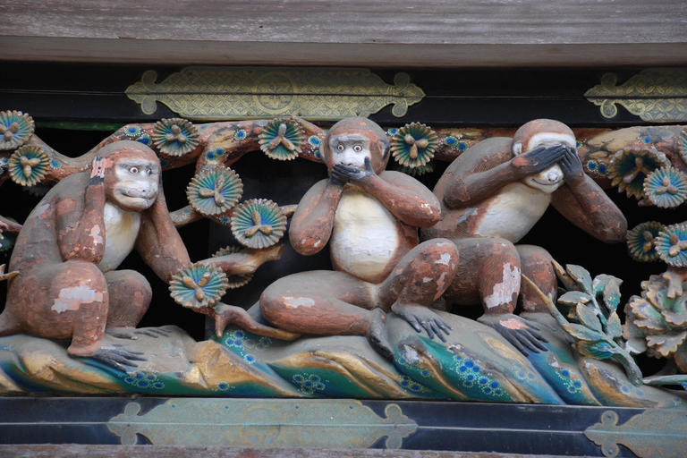 Monkey carving