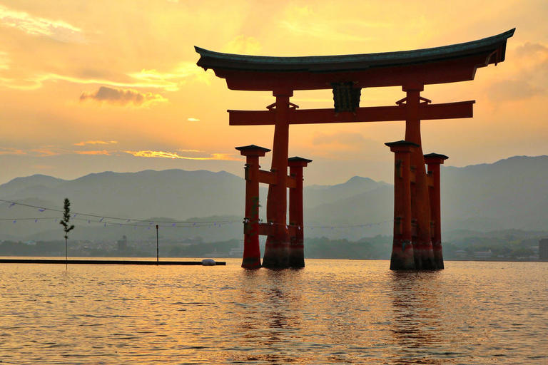 Torii gate in water