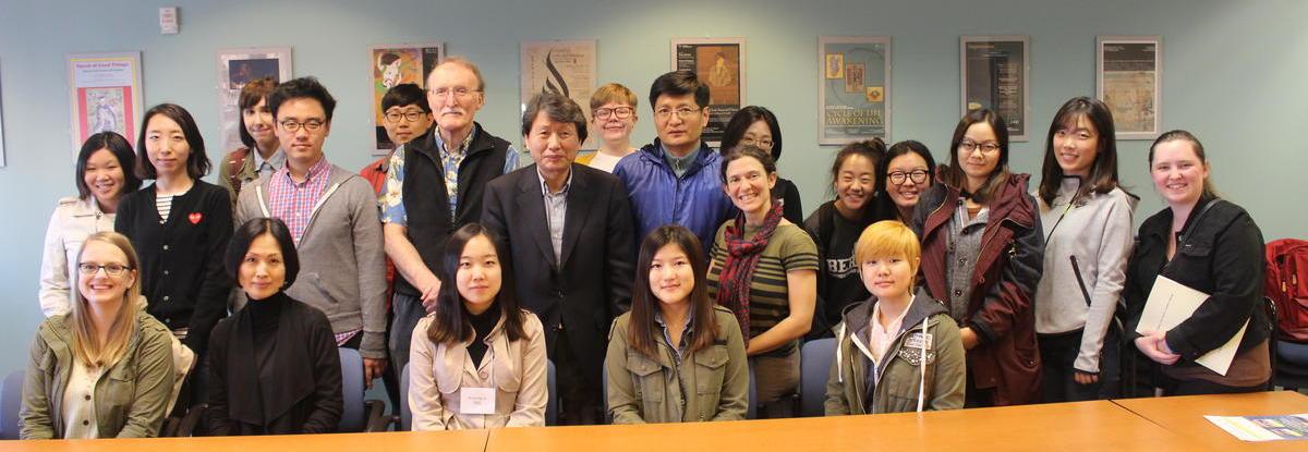Student Participants in the Korean Translation Workshop
