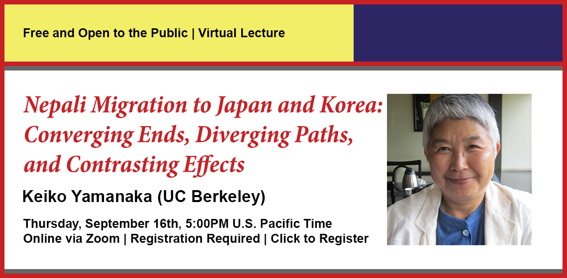 Click here to register for Nepali Migration to Japan and Korea.
