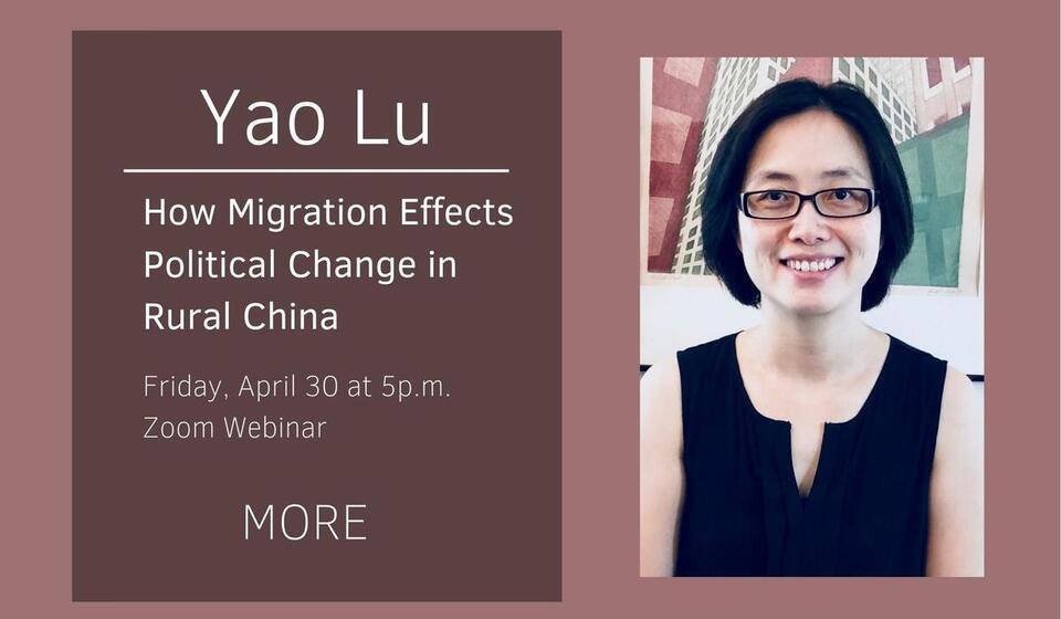 Talk by Yao Lu