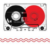 Cassette tape graphic